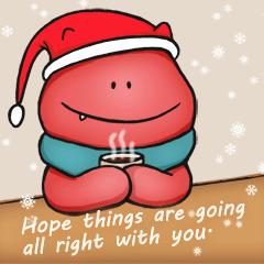 メリークリスマス&幸せな新年!