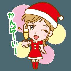 かわいいお姉さんのクリスマス