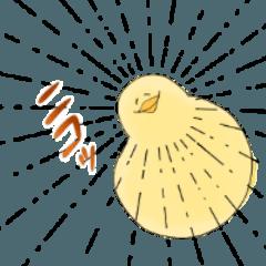 [LINEスタンプ] ふわふわのひよこちゃん