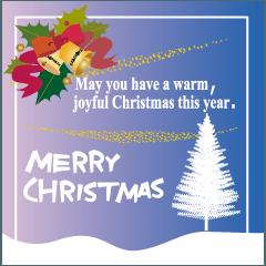 クリスマスグリーティングカード02