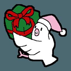 普通の文鳥ちゃんのクリスマス
