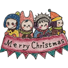 フォー④キッズのクリスマス&お正月