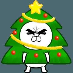 目ヂカラ☆にゃんこ達のクリスマス