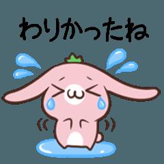 栃木弁のいちごうさぎとさる 2