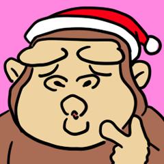 クリスマスゴリラ