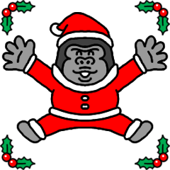 ゴリコミスタンプ -クリスマス-