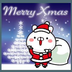 幼稚園児うさぎ6クリスマス&正月の冬ver