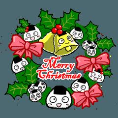 クリスマスおむすびっ
