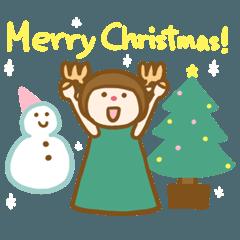 赤鼻のトナカイ-冬のご挨拶