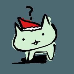 みどりねこクリスマス