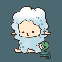 羊のトリスと蛇のアーウィン