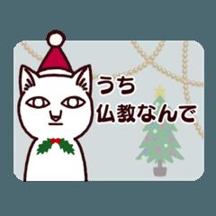 謎猫クリスマス