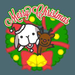たれ耳うさぎのしゃりきち〜クリスマス編〜