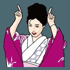 若尾文子(あやや)スタンプ