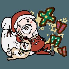 おじさんサンタと柴犬の憂鬱クリスマス
