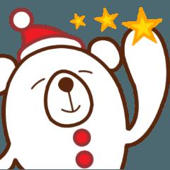 日常に潜むクマ(クリスマス・年末年始)