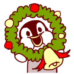 むっちりペンギン【クリスマス&冬の日常】