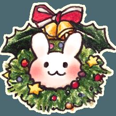 おしりうさぎのクリスマス