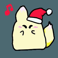 クリスマス こんちゃん