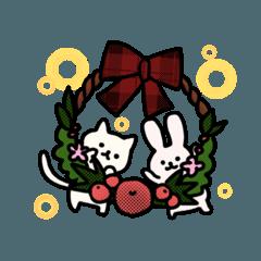 にゃんさんとうーさんのクリスマス!