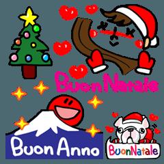 クリスマス&新年 イタリア