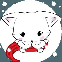 赤ちゃんキツネとラブリークリスマス