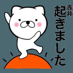 【赤井】が使う主婦が作ったデカ文字ネコ