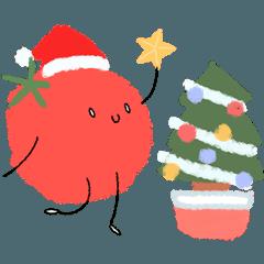 ゆるふわトマトさん3(X'mas お正月ver)