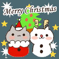 ねこたちのクリスマス