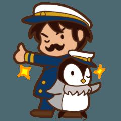 せんちょさんとペンギンくん2