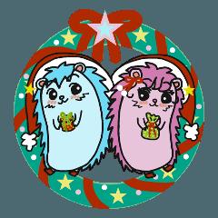 ハリネズミたちのハッピークリスマス