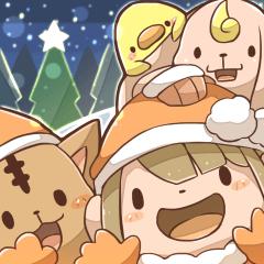 クリスマススタンプ 2017