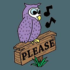 フクロウ1 Owls 1