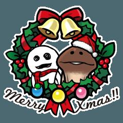なめこのクリスマス&お正月
