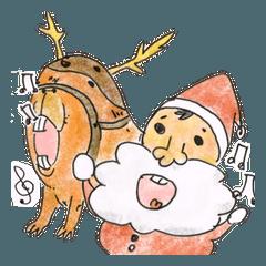 カピバラ クリスマス