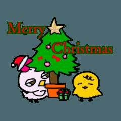 のほほん とりさん クリスマス&年末年始