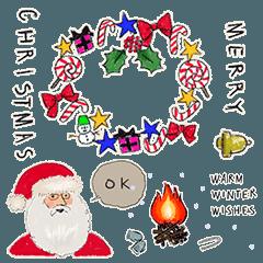 ハッピーなクリスマスを