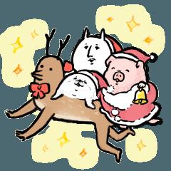 独特なクリスマスと冬