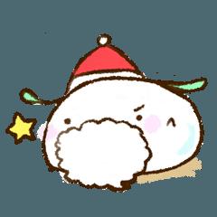 もにっと雪うさ クリスマス&お正月