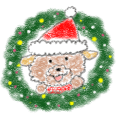 ふわんこ*クリスマス