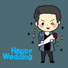 嬉しくて幸せな結婚式