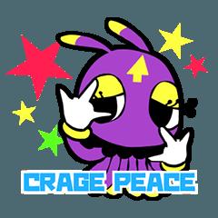 CRAGE スタンプ