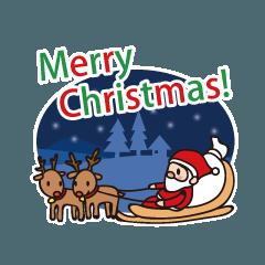 クリスマスに