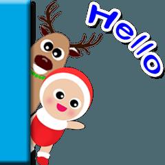 Baby Booboomとクリスマス。
