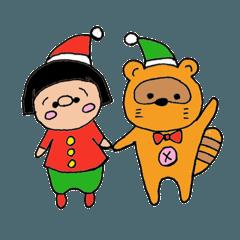 でこ クリスマス&冬&正月ver