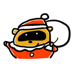 たぬきとトナカイとクリスマス