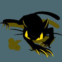The threatening cat