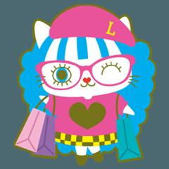 ラララココ 「かわいい」スタンプ!