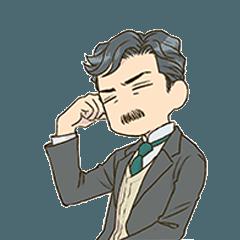 漱石先生スタンプ