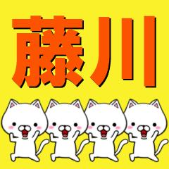 超★藤川(ふじかわ・ふじがわ・ふぢかわ)